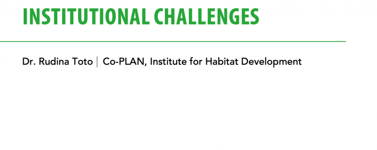 Building Resilience for Local Governments in Albania: Legal and Institutional Challenges