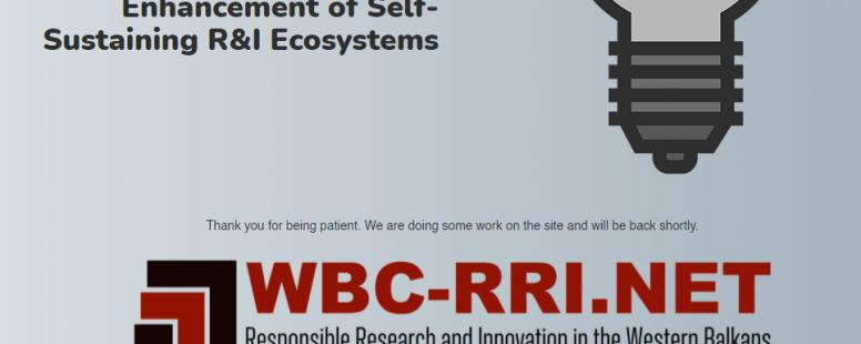 Embedding RRI in Western Balkan Countries